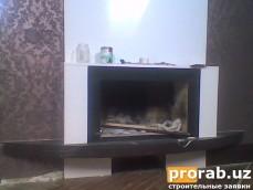 камин в квартире около М.Ойбек